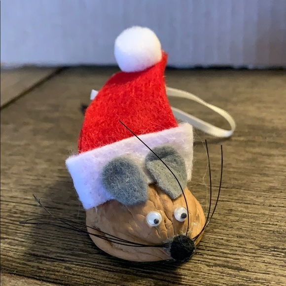 Walnut mouse 🐁 mice 🐭 Christmas decoration veg